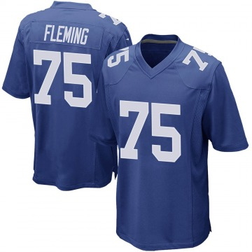 Men's Cameron Fleming New York Giants Nike Game Team Color Jersey - Royal