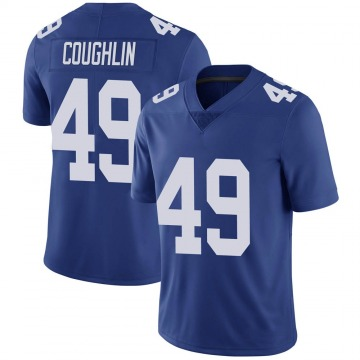 Men's Carter Coughlin New York Giants Nike Limited Team Color Vapor Untouchable Jersey - Royal