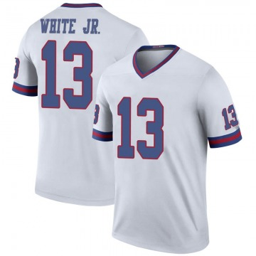 Men's Reggie White Jr. New York Giants Nike Legend Color Rush Jersey - White