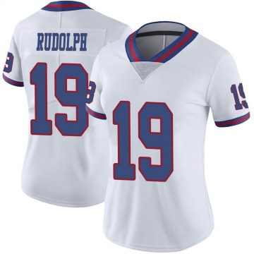 Women's Travis Rudolph New York Giants Nike Limited Color Rush Jersey - White