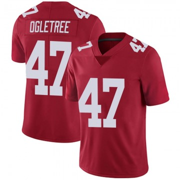 Youth Alec Ogletree New York Giants Nike Limited Alternate Vapor Untouchable Jersey - Red