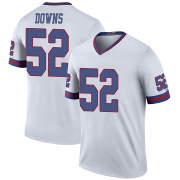 Youth Devante Downs New York Giants Nike Legend Color Rush Jersey - White