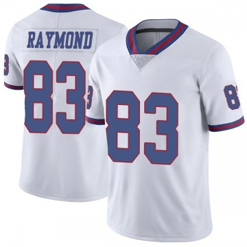 Youth Kalif Raymond New York Giants Nike Limited Color Rush Jersey - White