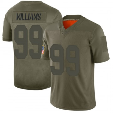 Youth Leonard Williams New York Giants Nike Limited 2019 Salute to Service Jersey - Camo