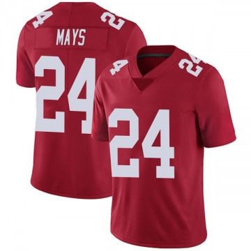 Youth Willie Mays New York Giants Nike Limited Alternate Vapor Untouchable Jersey - Red
